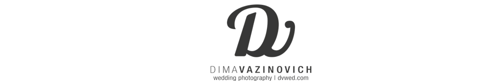 Dima Vazinovich Wedding photography logo